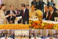 សម្តេចតេជោ ហ៊ុន សែន បានអញ្ជើញរៀបចំពិធីលៀងសាយភោជន៍ ជូនលោកជំទាវ អោង សានស៊ូជី (Aung San Suu Kyi)ទីប្រឹក្សារដ្ឋនៃសាធារណរដ្ឋសហភាពមីយ៉ាន់ម៉ា